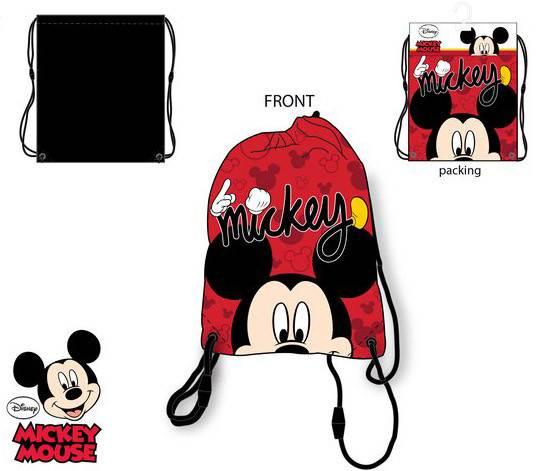 Javoli Detský Vak na chrbát Disney Mickey 37,5 x 31,5 cm červený