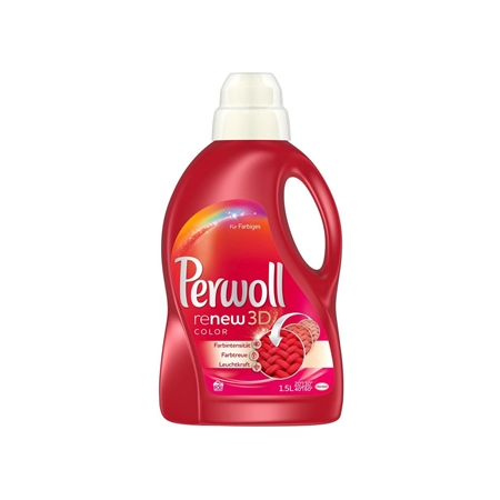 Perwoll Renew 3D Color gel na praní 1,5 L 20 pracích dávek