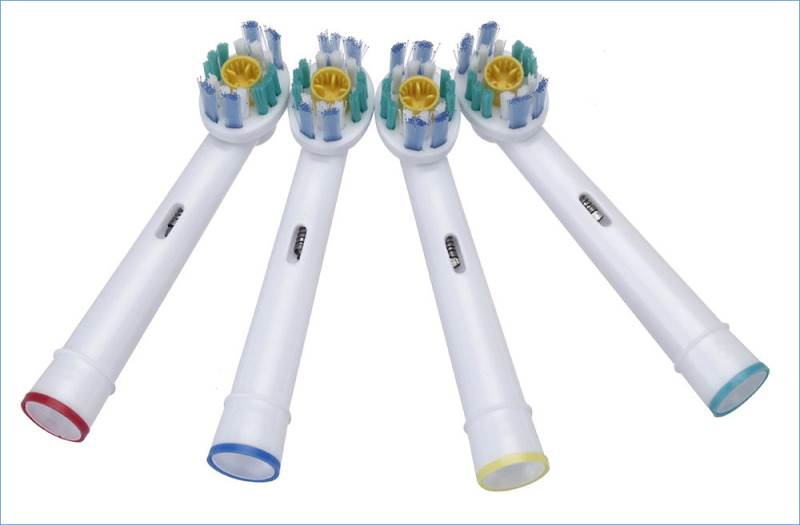 KIK 3D White Náhradné zubné kefky na ORAL-B univerzálny - 4 ks