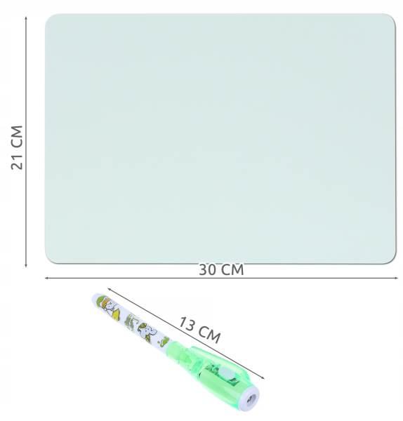 ISO 9179 Svietiace tabuľa na kreslenie GlowTab A43