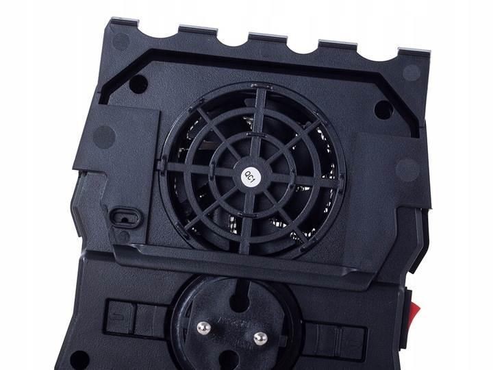 Verk 15680 Prenosný mini elektrický ohrievač krbový 1000W
