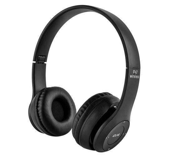 ISO STN - 12 Slúchadlá Bluetooth čierne