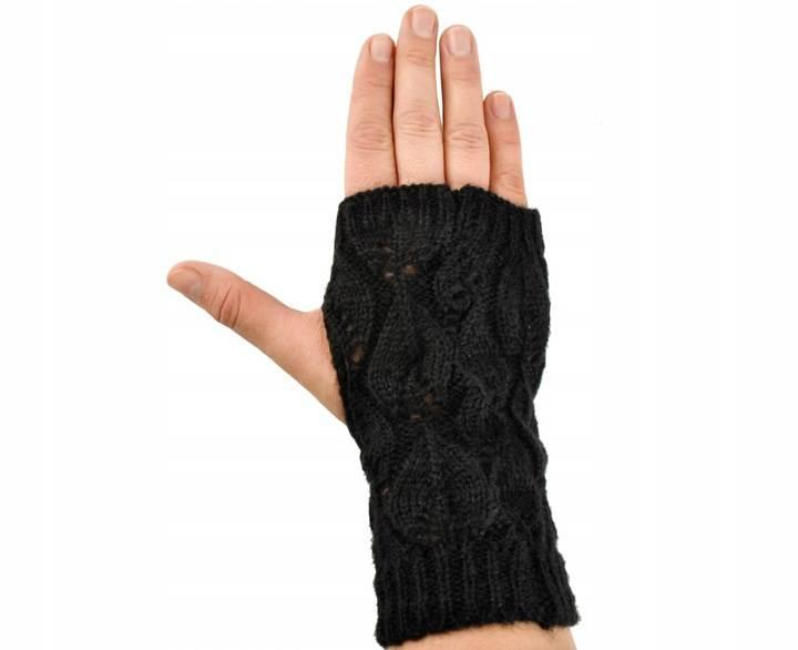 ISO 6413 Zimní rukavice na dotykové displeje 2v1 černé6