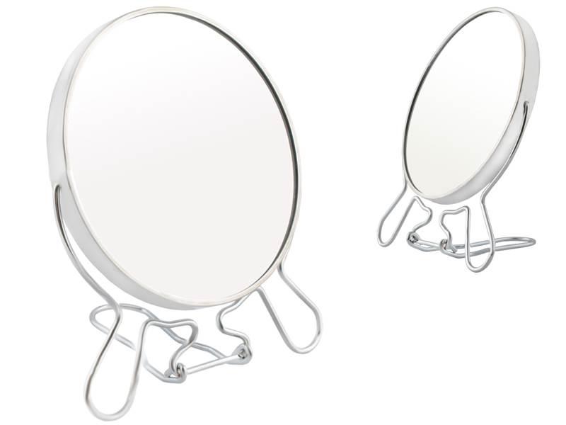 ART Obojstranné zväčšovacie zrkadielko na postavenie 16 cm