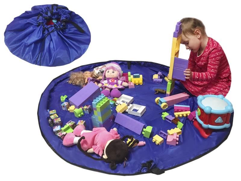 Toy Storage Bag 2v1 hracia deka vak na hračky 150cm