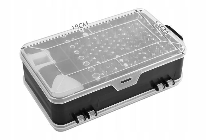 ISO 8645 Sada nářadí na opravu elektroniky 110 dílů2