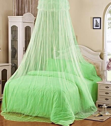 Pronett Moskytiéra nad posteľ zelená