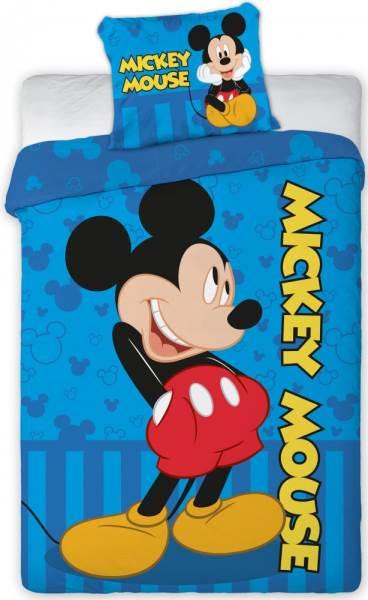 Javoli Detské bavlnené obliečky Disney Mickey 100 × 135cm, 40 × 60 cm II