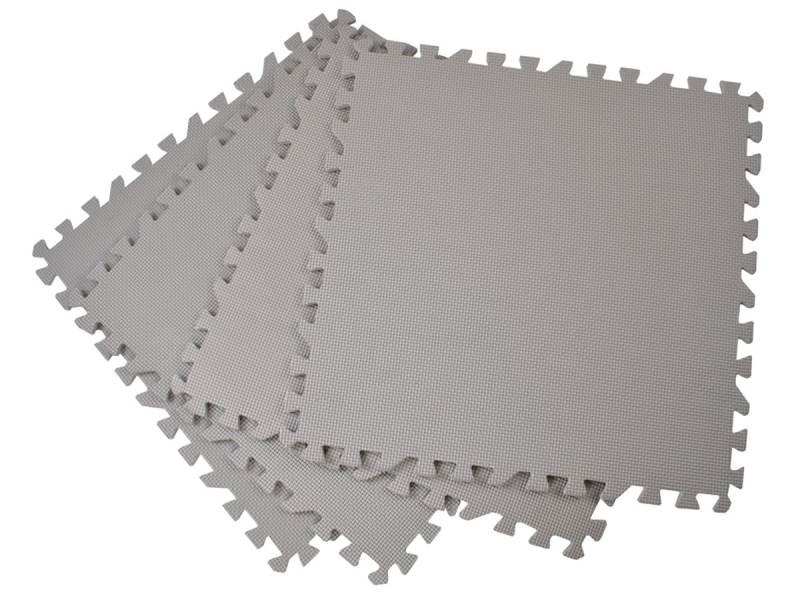 EVA Penový koberec 58 x 58cm - 4 ks hnědá