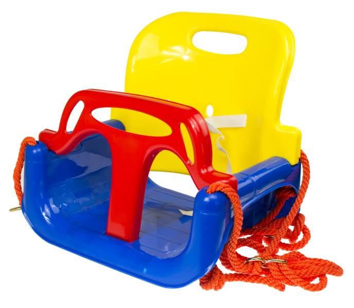 KIK Dětská houpačka plastová 3 v 1