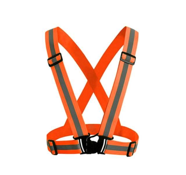 APT Reflexné traky elastické oranžové
