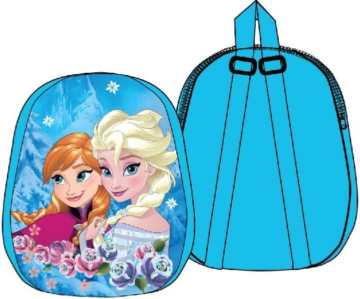 Javoli Detský batoh Disney Frozen Anna a Elsa 31 x 25 x 4 cm svetlo modrý