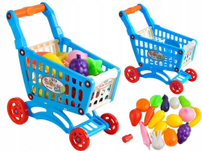 ISO 6107 Dětský nákupní vozík s příslušenstvím