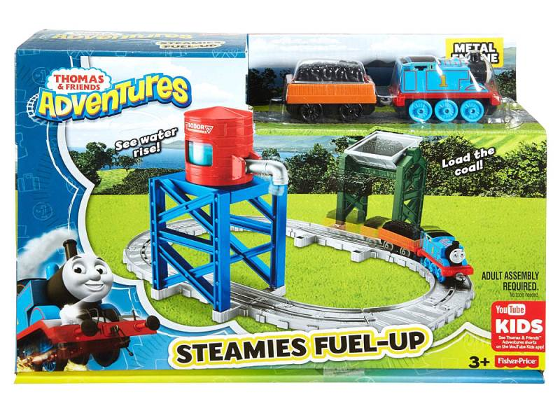 Fisher-Price Mašinka Tomáš Steamies Fuel-up