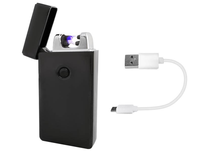 ISO 5057 Elektrický zapaľovač Plazma USB - čierny