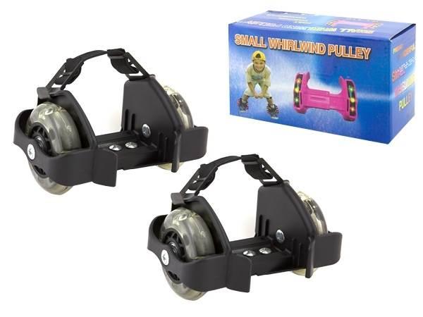 APT AG234 Svítící LED kolečka na boty černá1 b846ad54f0