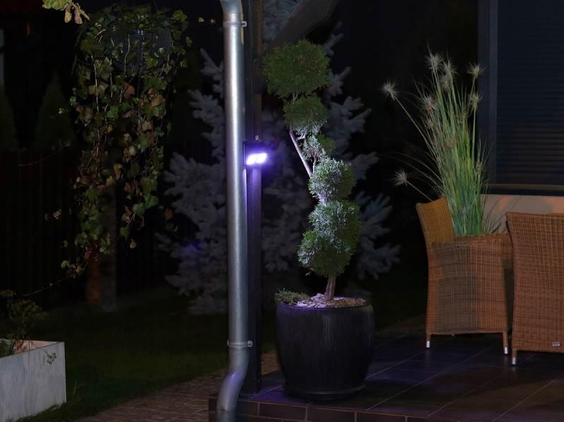ISO 6683 Solární LED světlo s PIR čidlem pohybu 10W7