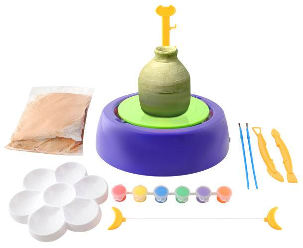 ISO 4483 Hrnčiarsky kruh + maľovanie pre deti
