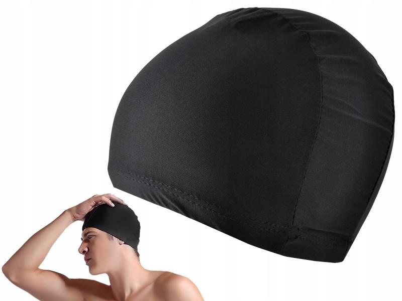 ISO 6296 Plavecká čiapka čierna