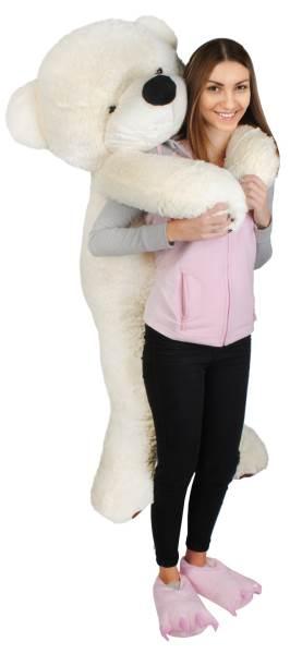 Velký plyšový medvěd bílý 160 cm3