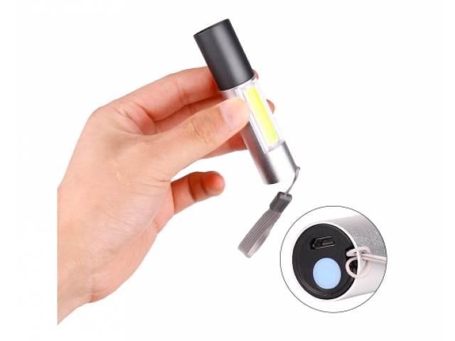 ART 0623 Svietidlo dobíjacie LED XPE + COB 10 cm