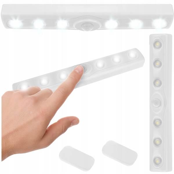 ISO 9111 LED Osvetlenie s pohybovým senzorom 6 LED, 3x AAA
