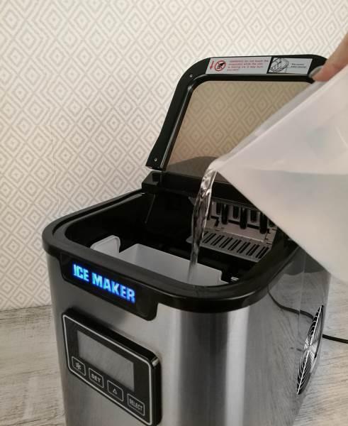Malatec 5536 Výrobník ledu 12Kg/24h9