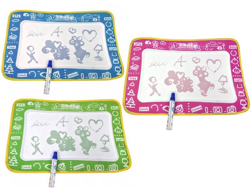 Playmat Doodle water magic + Aqua pero - zelená