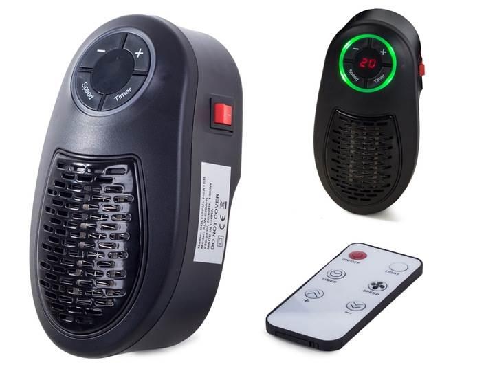 Verk 15686 Teplovzdušný ventilátor do zásuvky Colorful Heater 1000W