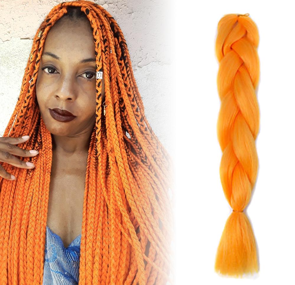 GFT Vlasový příčesek - oranžový
