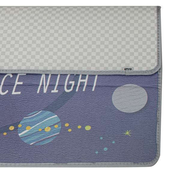 KIK Pěnová podložka na hraní Space Night 180 x 120 cm 2
