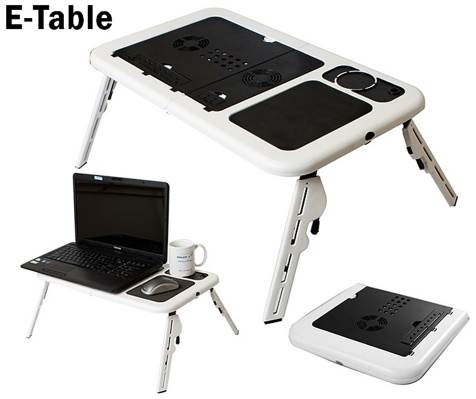 E-Table Stolek na notebook do postele