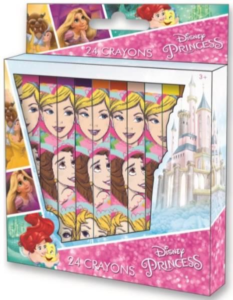 Javoli Disney Princess voskovky 24 kusov
