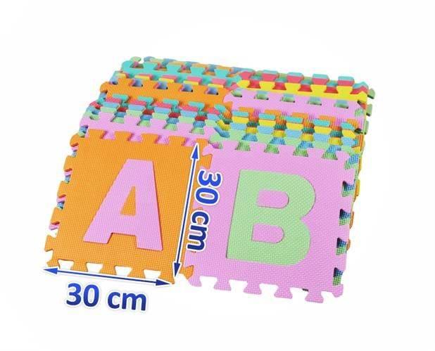 EVA Penové puzzle 30 x 30cm - 36 ks2