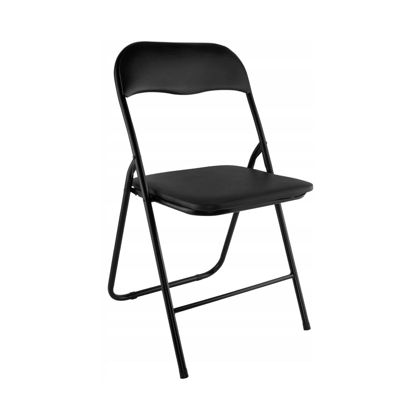 Malatec 7890 Skladacia stolička čierna