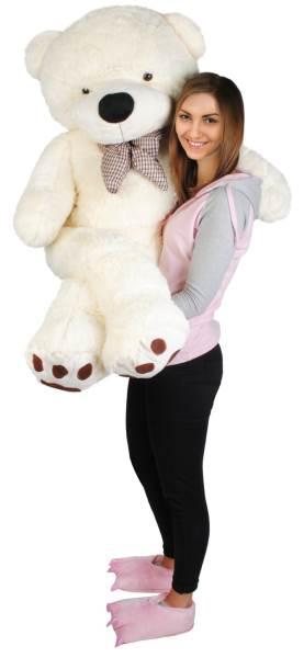 Velký plyšový medvěd bílý 160 cm6