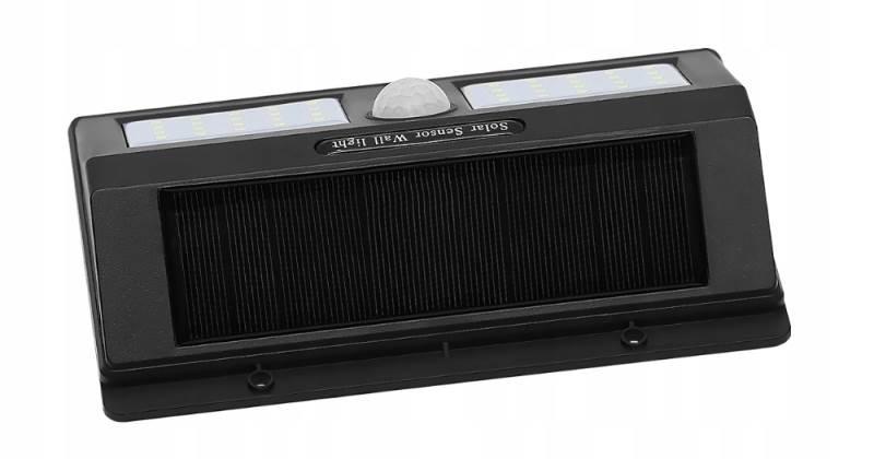 ISO 6683 Solární LED světlo s PIR čidlem pohybu 10W6