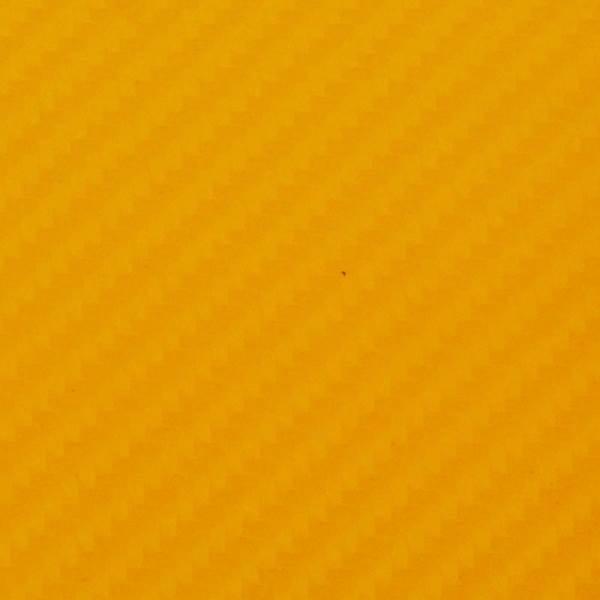 KIK Karbónová fólia 4D 10 x 152 cm žltá