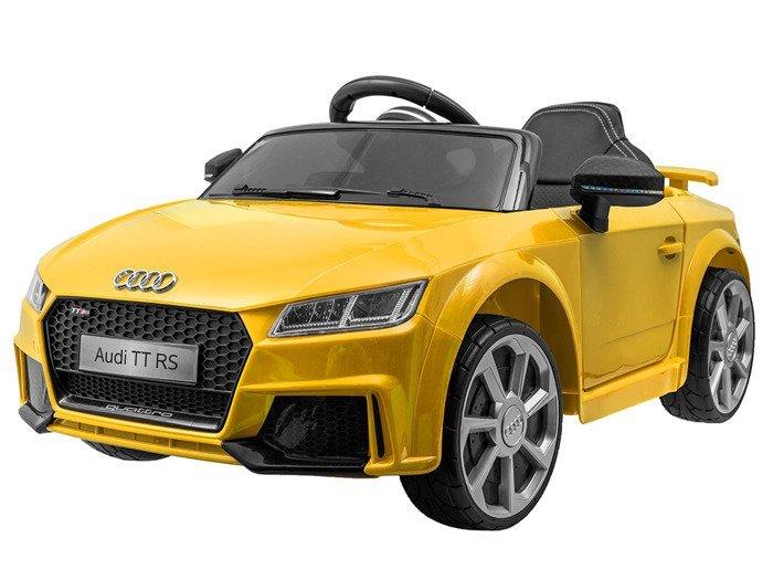 Joko PA0184 ZO Elektrické autíčko Audi TT RS žluté
