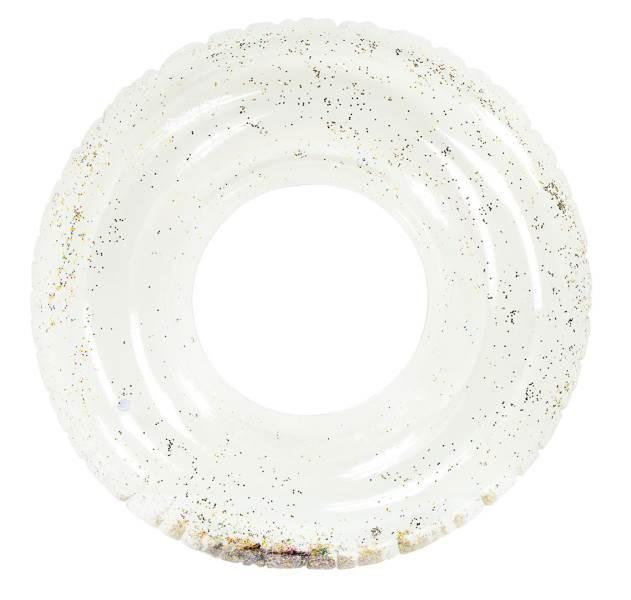 KIK Kruh na plavání 120 cm s třpytkami1