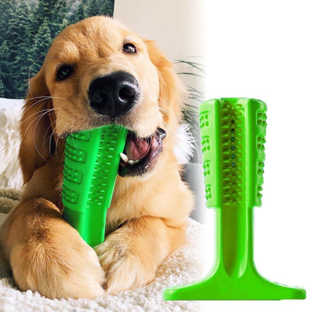 Effly Silikonový kartáček pro psy