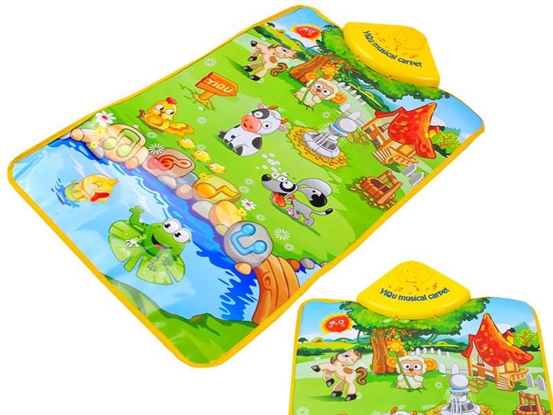 ISO-YQ2980 Dětská hrací podložka - zvířecí farma