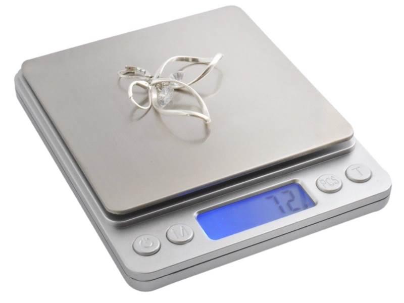 ISO 3465 Kuchynská váha WK3465 - 0,1g - 2kg digitálna