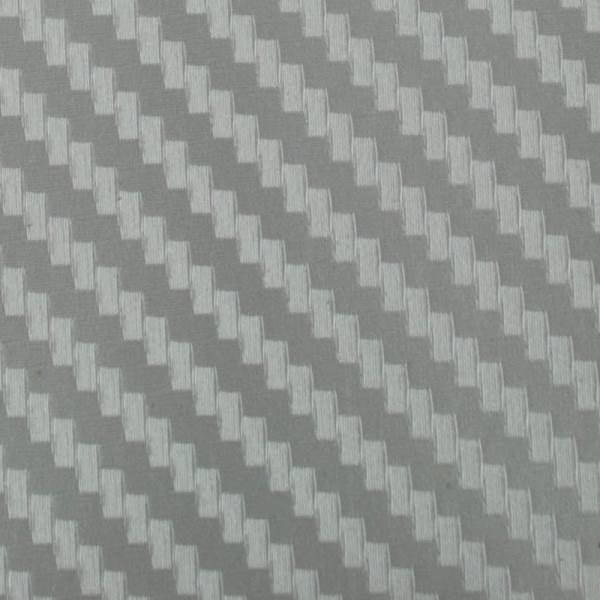 KIK Karbónová fólia 3D 10 x 127 cm strieborná