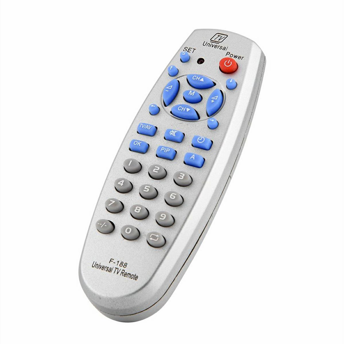 APT AG83B Univerzálny diaľkový TV ovládač strieborný