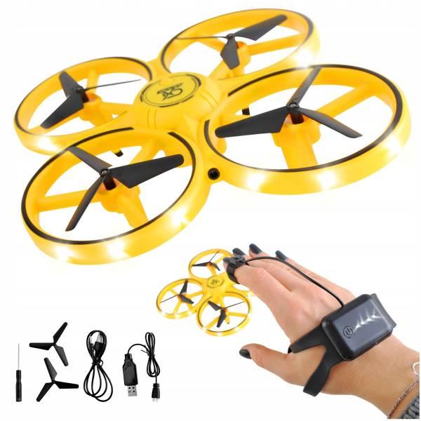 ISO 9506 Dron Tracker LED s ovládaním rukou 2.4GHz žltá