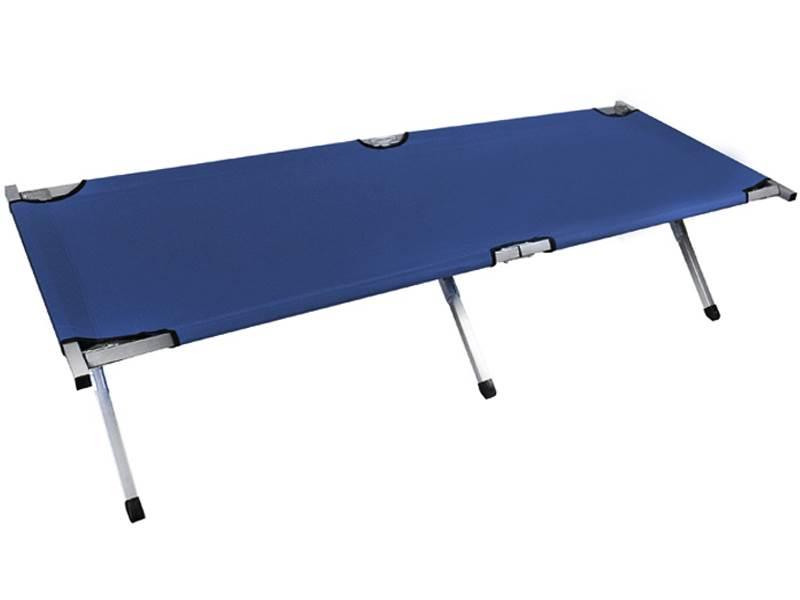 Malatec 555 Poľné lôžko tmavo modré pre stany