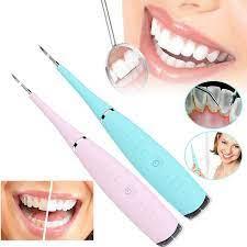 Effly Ultrazvukový čistič zubů - růžový
