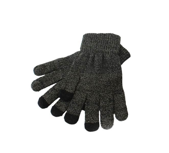 APT Set čiapka nákrčník rukavice šedá3