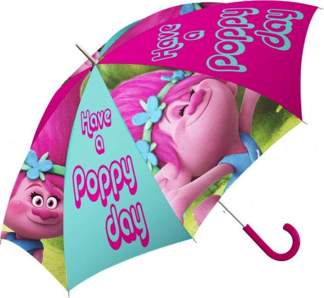 Javoli Dáždnik detský Trollovia Poppy 65 cm